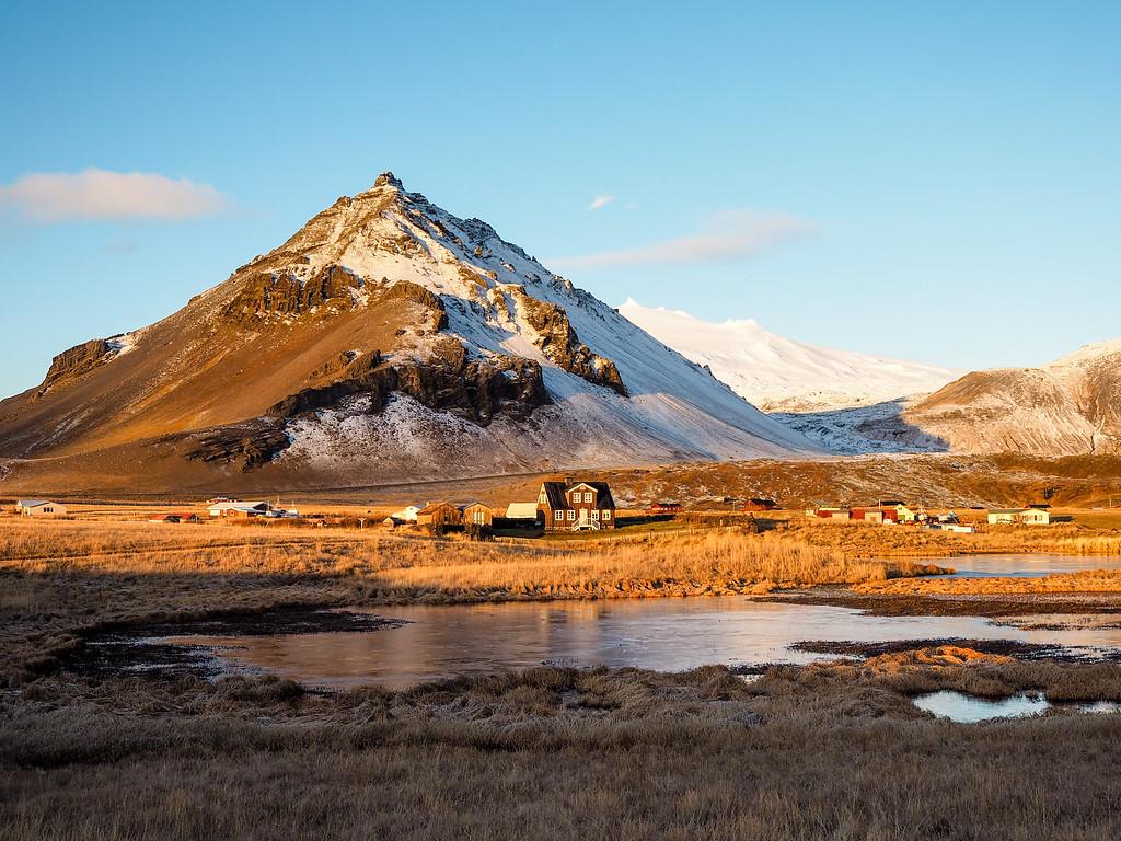 Arnarstapi on the Snaefellsnes Peninsula in Iceland