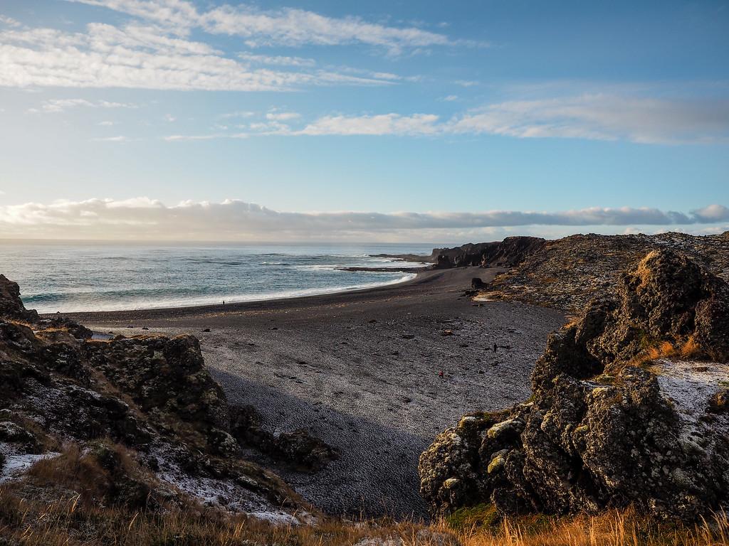 Djúpalónssandur Beach in Iceland