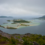 View from �rnfl�ya in Northern Norway