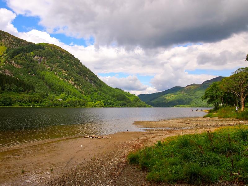 Loch Lubnaig in Scotland