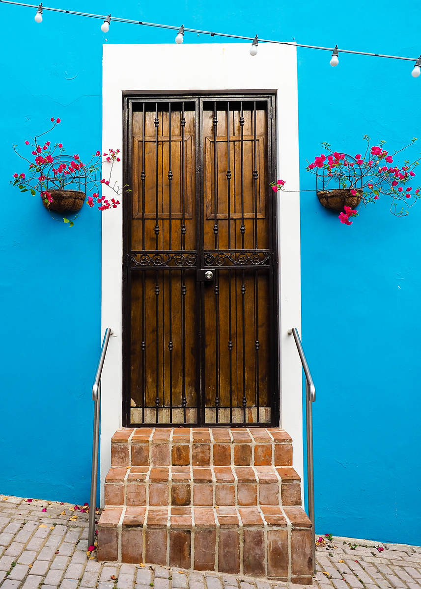 Door in Old San Juan, Puerto Rico
